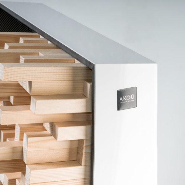 Foto prodotti stand white 3 - AKOÚ | Acoustic devices