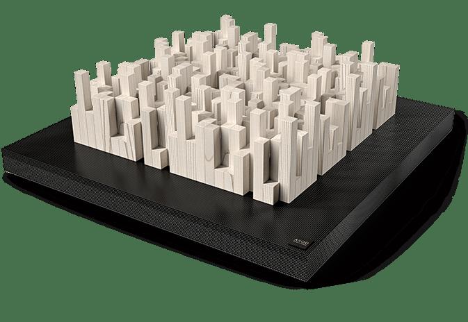 floor black - AKOÚ   Acoustic devices