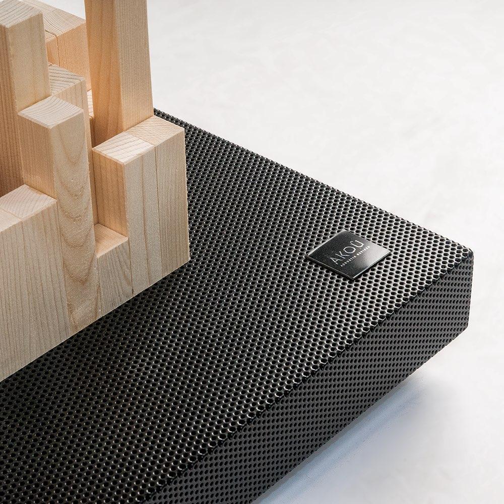 Foto prodotti floor black 2 - AKOÚ   Acoustic devices