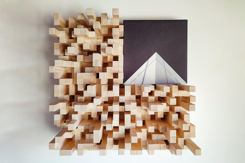 case hystory attico vicenza diffusori legno akou - AKOÚ | Acoustic devices